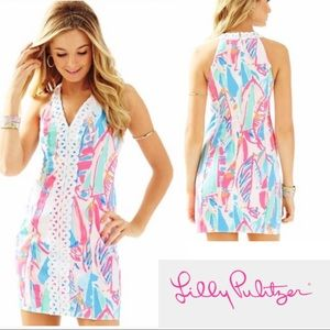 Lilly Pulitzer Out to Sea Lynn Shift Dress